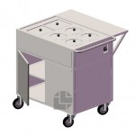 Electric-hot-food-trolley