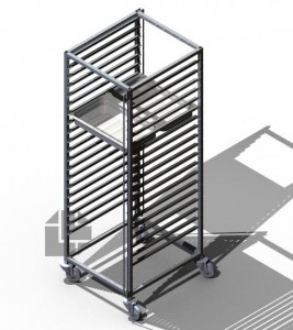 TRAY-RACK-TROLLEY