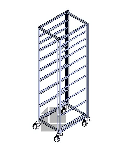 Vegetable-rack-trolley