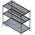 Wire-shelving-unit